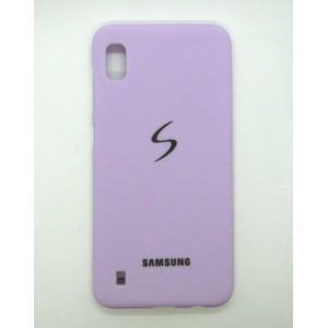 Silicone Case copy Samsung A10 (violet)