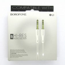 AUX Borofone BL1 1м (white)