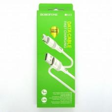 Data cable Borofone BX43 micro-USB (white)