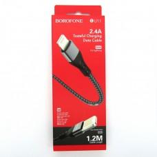 Data cable Borofone BU11 iPhone (black)