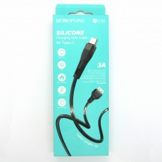 Data cable Borofone BX46 Type-C (black)