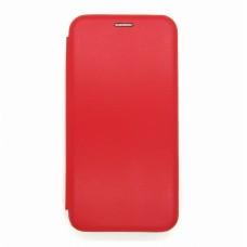 Чехол-книжка ориг кожа Huawei P40lite E/Y7 2020 (red)