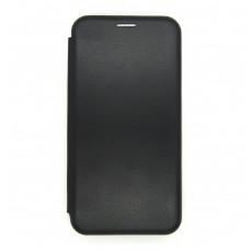 Чехол-книжка ориг кожа Huawei P40lite (black)