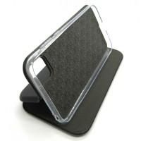 Чехол-книжка ориг кожа Huawei Y5P (black)