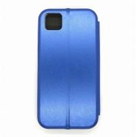 Чехол-книжка ориг кожа Huawei Y5P (blue)