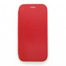 Чехол-книжка ориг кожа Huawei Y5P (red)