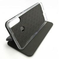 Чехол-книжка ориг кожа Huawei Y6P (black)