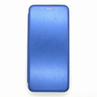 Чехол-книжка ориг кожа Huawei Y6P (blue)