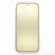 Чехол-книжка ориг кожа Huawei Y6P (gold)