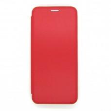 Чехол-книжка ориг кожа Huawei Y6P (red)