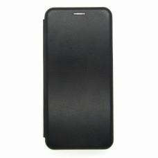 Чехол-книжка ориг кожа Xiaomi Redmi 9 (black)