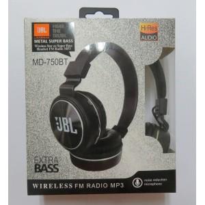 Hands Free  JBL Metall Super Bass MD-750BT (black)