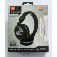 Hands Free JBL Metall Super Bass MD-750BT (white)