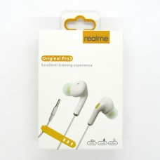 Hands Free Realme original Pro3 (white)