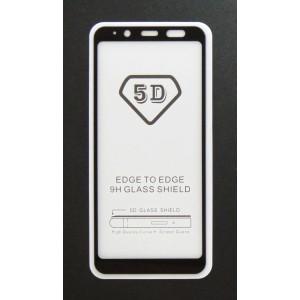 Стекло Samsung A6 2018 5D (black)