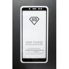 Стекло Xiaomi Redmi Note 5 PRO 5D (black)