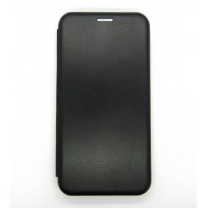 Чехол-книжка ориг кожа Xiaomi Redmi Note 8 (black)