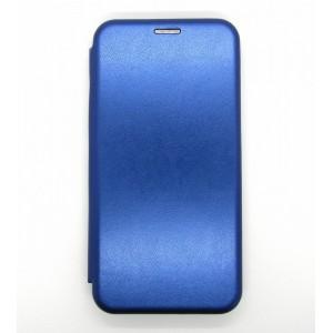 Чехол-книжка ориг кожа Xiaomi Redmi Note 8 (blue)