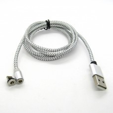 Data cable iPhone магнит 360 X-cable (silver)