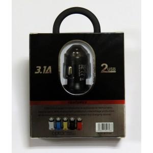 АЗУ CAR CHARGER C-01 (black)