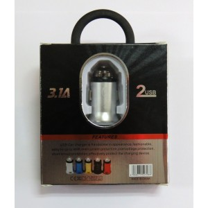 АЗУ CAR CHARGER C-01 (silver)