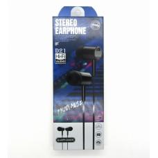 Hands Free Stereo Earphones D21 (black)