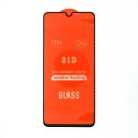 Стекло Samsung A70 21D (black)