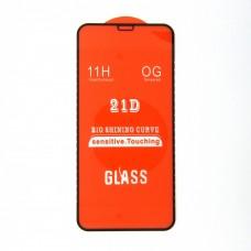 Стекло iPhone 11 PRO 21D (black) (5,8)