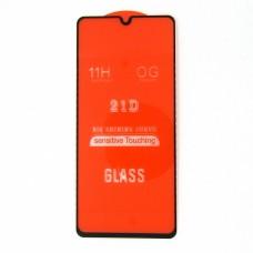Стекло Samsung A41 21D (black)