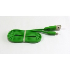 Data Cable ELASTICK iPhone 5 (green)