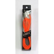 Data Cable ELASTICK micro-USB (orange)