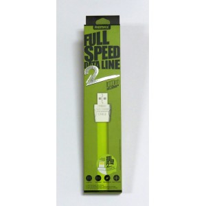 Data Cable Remax Full speed data line (green)