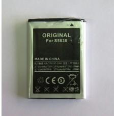 АКБ не оригинал Samsung S5830