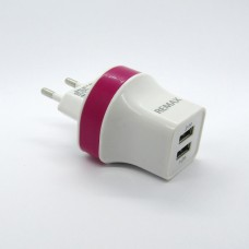 СЗУ REMAX 2 in 1 (pink)